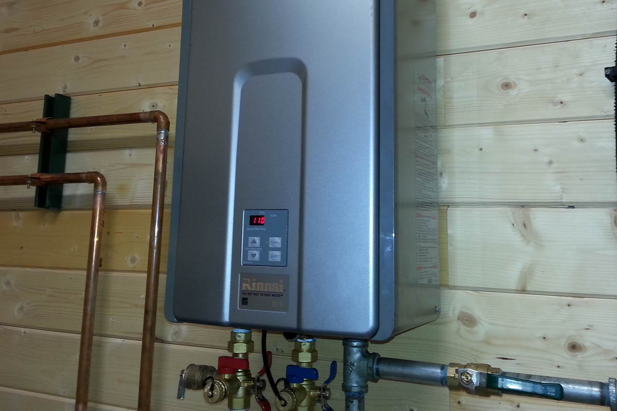 Water Heaters Instant Hot Water : Chilliwack instant hot water installation boilers