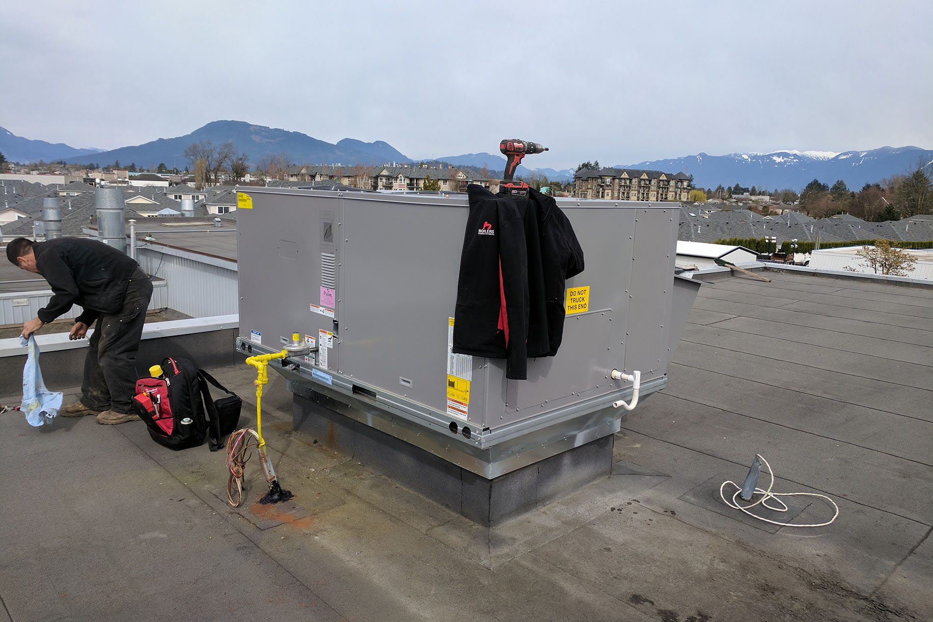 Chilliwack make-up air systems repair